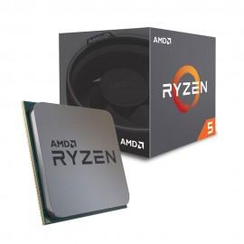 ПРОЦЕССОР AMD RYZEN 5 2600 SAM4 BOX 65W 3400 YD2600BBAFBOX