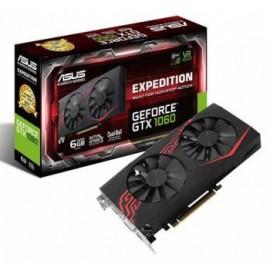 ВИДЕОКАРТА ASUS PCI-E EX-GTX1060-6G NVIDIA GEFORCE GTX 1060 6144MB 192BIT GDDR5 1506/8008 DVIX1/HDMIX2/DPX2/HDCP RET