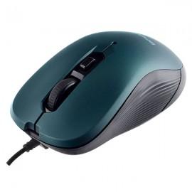 "Perfeo мышь оптическая, ""BREEZE"", 6 кн, DPI 800-3200, USB, зелёный (PF-386-OP-GN)"