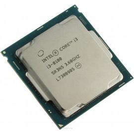 ПРОЦЕССОР INTEL CORE I3 8100 SOC-1151V2 (CM8068403377308S R3N5) (3.6GHZ/UHD GRAPHICS 630) OEM