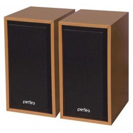 """Perfeo колонки 2.0 """"CABINET"""", мощность 2х3 Вт (RMS), бук дерево, USB (PF-84-WD)"""
