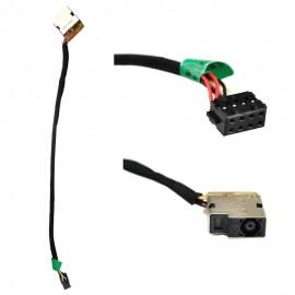 Разъем питания для ноутбука HP Envy 709802-Yd1, 17E, 15-J030us, 15-J031nr, 15-J032, 709802-Sd1, Pavilion 15-E с кабелем PJ582