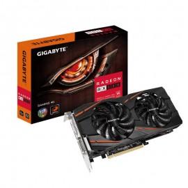 Видеокарта Gigabyte PCI-E GV-RX580GAMING-4GD AMD Radeon RX 580 4096Mb 256bit GDDR5 1340/7000 DVIx1/HDMIx1/DPx3/HDCP Ret