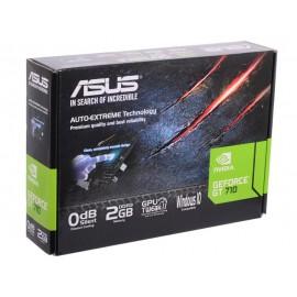 ВИДЕОКАРТА ASUS 710-2-SL (GFGT710, 2GB, PCI-E, GDDR3, 64 BIT, VGA, DVI, HDMI) RETAIL