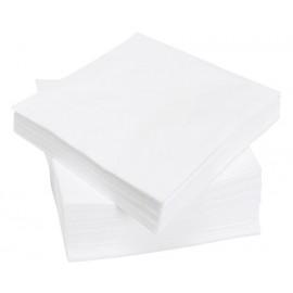 Безворсовая тряпка 90х90 белая 100шт в упаковке