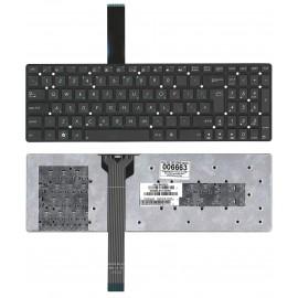 Клавиатура для ноутбука Asus K55 X501 черная без рамки