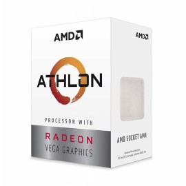 ПРОЦЕССОР AMD ATHLON 200GE AM4 35W 3,2GH, RADEON VEGA GRAPHICS,BOX