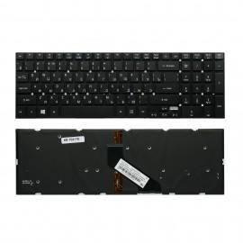 Клавиатура для ноутбука Acer Aspire 5755 черная с подсветкой