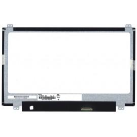 """Матрица для ноутбука 11.6"""" 1366x768 WXGA, 30 pin Slim LED, крепления сверху/снизу (уши). Глянцевая. B116XTN01.0, N116BGE-E42, N116BGE-E32."""