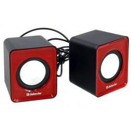 Колонки 2.0 Defender SPK-22 RMS 5W, USB, красный