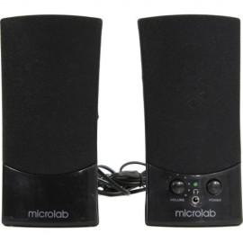 Колонки 2.0 Microlab B561 RMS 4W, USB, чёрный