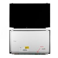 """Матрица для ноутбука 15.6"""" 1366x768 WXGA, 40 pin Slim LED, крепления сверху/снизу (уши), Глянцевая. N156BGE-L41, NT156WHM-N10."""