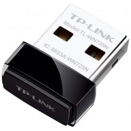 Сетевой адаптер WiFi TP-Link TL-WN725N USB 2.0 (ант.внутр.)