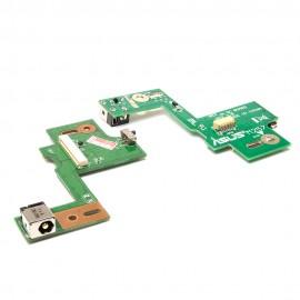 Разъем питания PJ609 для ноутбука Asus N53 Series. 5.5x2.5 mm. На плате M257 Rev 2.0.