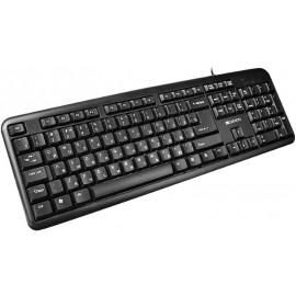 Клавиатура Canyon CNE-CKEY01, USB, чёрный