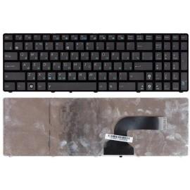 Клавиатура для ноутбука Asus K52 K53 G73 A52 G60 черная с рамкой