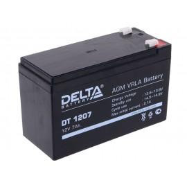 Аккумулятор Delta DT 1207 (12V 7Ah)