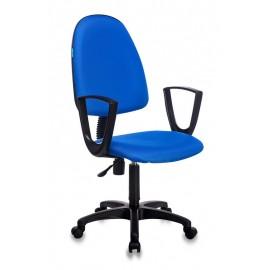 Кресло Бюрократ CH-1300N, BLUE синий Престиж+ 15-10