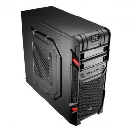 Корпус Aerocool GT черный без БП ATX 1x120mm 2xUSB2.0 audio bott PSU